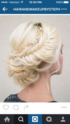 In love with this updo!