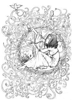 Essence - Art Nouveau by ~Deonos on deviantART