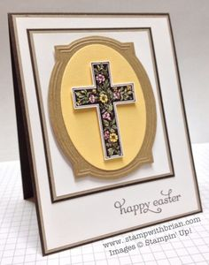 Crosses of Hope, Delightful Dozen, Stampin' Up!, stampwithbrian.com