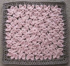 In Treble Afghan Square pattern, by Julie Yeager