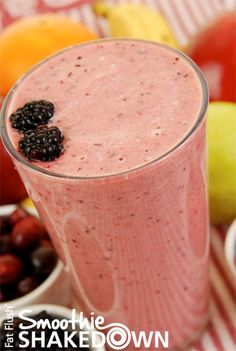 Apple Berry Smoothie- Official Fat Flush Smoothie Shakedown Recipe