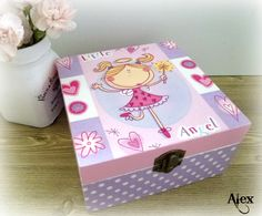 Decoupage Little Angel