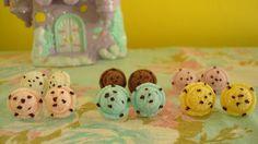 Ice Cream Scoop Earrings!!!, via Etsy.