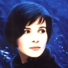Juliette Binoche in Blue, my favourite actress with Kieslowski, one of my favourite Directors.