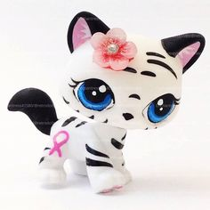 Littlest Pet Shop Cat Toy Custom OOAK LPS Mia by RetroDollsUS