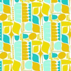 Amy Reber, designs, illustration, surface design, textiles -- geo 5