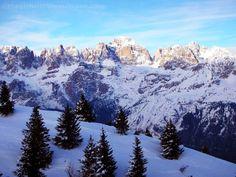 Dolomiti Paganella, Trentino, Italia  www.thegirlwiththesuitcase.com/2013/01/tu-chiamale-se-vuoi-emozioni.html