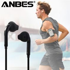 Sport Headset with Mic In-Ear Wired Earphone Earbuds Stereo Headphones Universal for Xiaomi iPhone PC Wired Earphones Sports Headphones, Stereo Headphones, Over Ear Headphones, Iphone, Headphone With Mic, Noise Cancelling Headphones, Mobile Cases, Audiophile, Headset