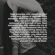 date someone who sleeps