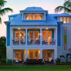 i love key west style houses