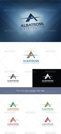 Logo Templates - Albatross Travel | GraphicRiver