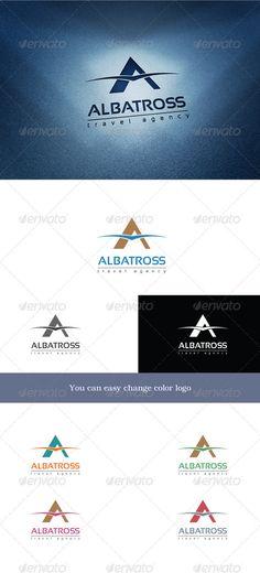 Logo Templates - Albatross Travel | GraphicRiver
