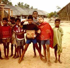 https://flic.kr/p/87Qxzf | India, Orissa | A group of boys in a fishing village in rural coastal Orissa.