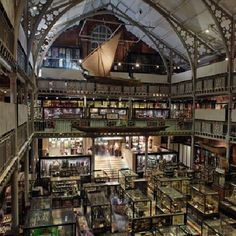 Interior view of the Pitt Rivers Museum. Copyright Pitt Rivers Museum, University of Oxford.