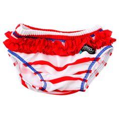 Accesorii bebelusi :: Trusoul bebelusului :: Articole de plaja :: Slip SeaLife red marime L Swimpy