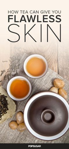 Drink yourself to clearer, brighter, younger skin with tea. You can also create DIY recipes using tea leaves for an antiaging skin treatment. Learn more with these easy beauty tips!: Drink yourself to clearer, brighter, younger skin with tea. Younger Skin, Look Younger, Anti Aging Skin Care, Natural Skin Care, Natural Beauty, Natural Hair, Peeling Maske, Tighter Skin, Nutrition