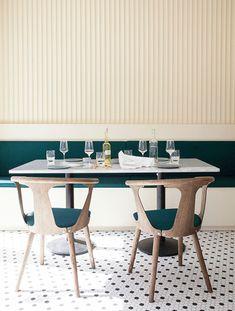 A Danish take on Italian food: restaurant design