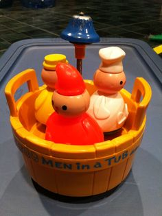 Fisher Price 3 Men In A Tub