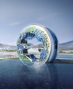 Ocean Imagination / Unsangdong Architects, Futuristic Architecture, Future Building #architecture ☮k☮