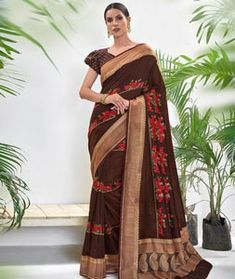Chanderi Silk Saree Chanderi Silk Saree, Silk Sarees, Long Cut, Spring Sale, Blouse Online, How To Dye Fabric, Color Shades, Head To Toe, Sari