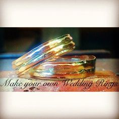 Ever fancied the idea of making your own wedding rings? Now you...
