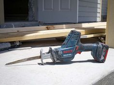 Bosch's 18V Compact #ReciprocatingSaw looks more like the 12V models you've seen. It adds versatility and makes a lighter weight, more compact tool. It may just be the next big thing.   #demolition #construction #tools #powertools #cordlesstools  http://www.protoolreviews.com/tools/power/cordless/saws-cordless/bosch-18v-compact-reciprocating-saw/25127/