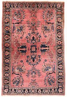 Lot: Saruk Carpet, Lot Number: 0145, Starting Bid: $1,000, Auctioneer: Hazara Auction Gallery, Auction: Fine Antique Oriental Rugs & Textiles , Date: October 18th, 2014 CDT
