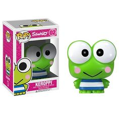 Hello Kitty Sanrio Keroppi Pop! Vinyl Figure  http://www.entertainmentearth.com/