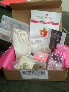 ecocentric mom box october | Ecocentric Mom October Baby Box Review | My Four Littles