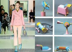 Prada_AW15_DeLucchiGirmiPrototypes- based on Memphis Milano group in 80s and the art of Michele De Lucchi