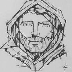 #adamamos #propheticartist #jesuschrist #pencildrawing #sketches #sketchbook Pencil Drawings, Jesus Christ, Sketches, Artist, Instagram, Draw, Doodles, Sketch