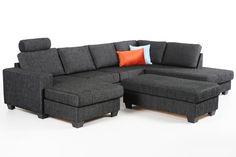 Seurustelu- ja oleilusohva, jonka voi muuntaa vuoteeksi BRANDON-säilytysrahin avulla.Istuinmukavuus täydentyy BRANDON-niskatuella, jonka voi siirtää helposti istuinpaikasta toiseen. Saatavana... New Homes, Couch, Furnitures, Home Decor, Settee, Decoration Home, Sofa, Room Decor, Sofas