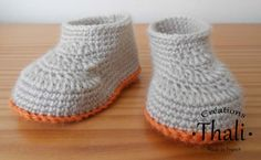 Les chaussons mocassin au crochet