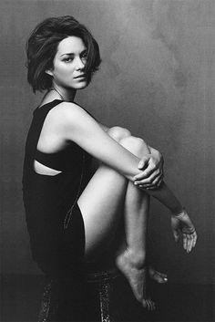 Look at Marion Cotillard.