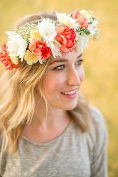 Flowers Crown DIY