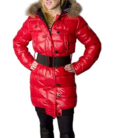 Moncler LUCIE New Women Pop Star Red Coat Down! Only $226.9USD
