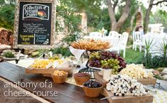The Cheese Course Is Making a Comeback at Weddings — Here's What Goes In It | Photo by:  Jenny Demarco Photography | TheKnot.com