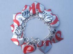Etsy :: madefromtheheart :: Diet Coke Charm Bracelet from etsy.com