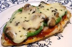 LOW CARB PIZZA CHICKEN ~ Recipe of today