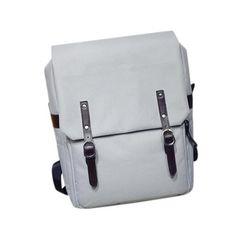 Simple Style Backpack Women PU Leather Shoulder Bag For Teenage Girls School Bags Fashion Vintage Solid Rucksack mochila #LREW