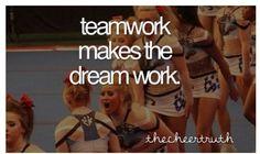 Cheerleading quotes: no nonsense spirit.