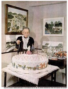 Grandma-Moses-88th-Birthday-1948-