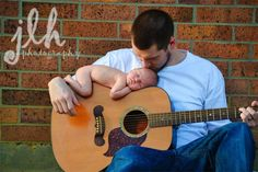 jlhphotographytx.com   Baby On guitar!  Love this!