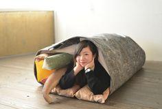 田崎咲絵「帆布を使って巻き寿司になろう!」