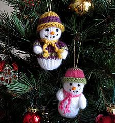 Snowman pattern by Wendy Phillips