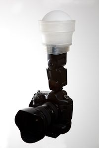 Gary Fong Lightsphere. Every photographer should have one in their bag.