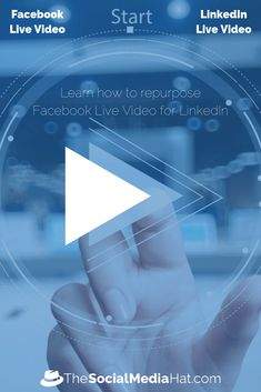 Is it possible to stream Facebook Live video to LinkedIn Live? Yes. Here's how. Facebook Marketing, Internet Marketing, Online Marketing, Social Media Marketing, Social Media Trends, Social Media Content, Best Social Network, Play The Video, Facebook Video