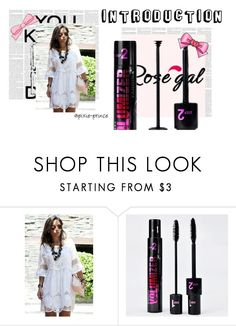 """Rosegal #14"" by lejla14 ❤ liked on Polyvore featuring Chanel"