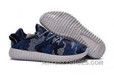 a401862bc Adidas Yeezy 350 Boost Men Blue Black - First-Rate