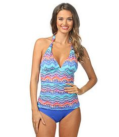 fbbcd7ea02abb Waves of Change Goddess Halter Tankini – Blum s Swimwear   Intimate Apparel